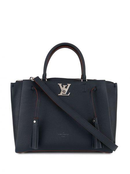 Skórzana torebka duży z uchwytem Louis Vuitton Pre-owned