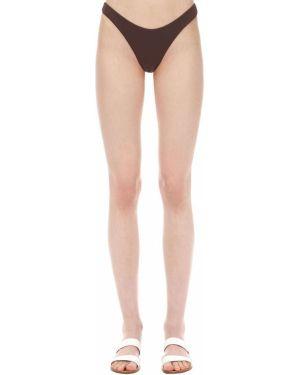 Brązowy bikini bezszwowy Aexae