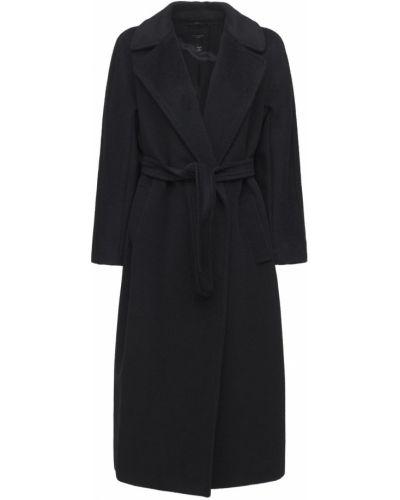 Шерстяное пальто - черное Weekend Max Mara