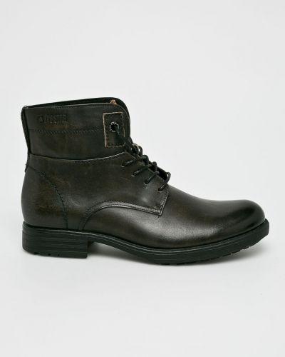 Кожаные ботинки высокие коричневый Big Star