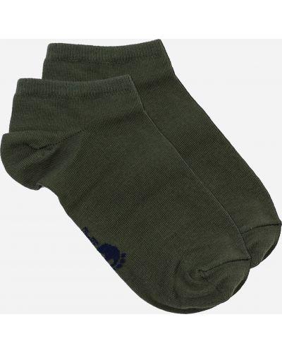 Укороченные носки короткие - зеленые Lapas