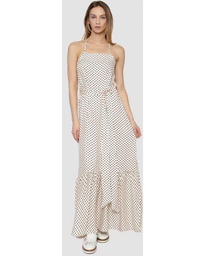 Бежевое платье весеннее Dolcedonna