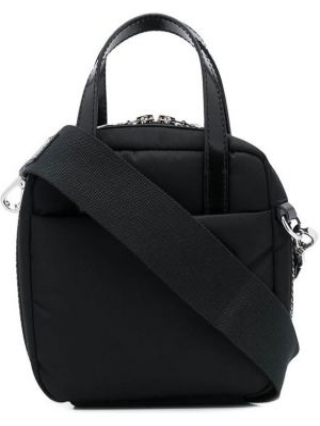 Skórzana torebka na ramię okrągła Kara