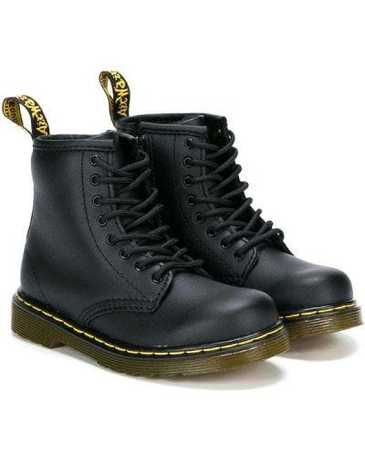 Ботинки черные Dr. Martens Kids