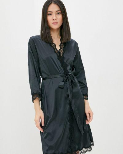 Домашний халат - черный Dita Von Teese