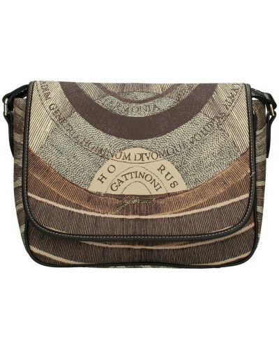Brązowa torba na ramię Gattinoni
