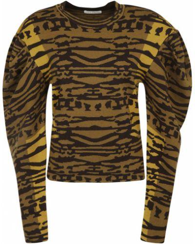 Brązowy sweter Ulla Johnson