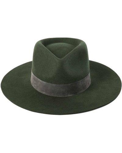 Zielona kapelusz wełniana Lack Of Color