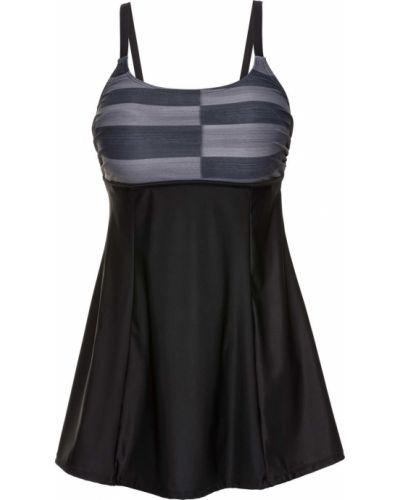 Платье купальное серое Bonprix
