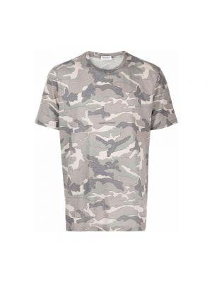 T-shirt - szara Saint Laurent