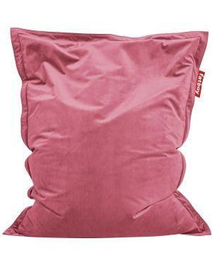 Różowa torebka z aksamitu Fatboy