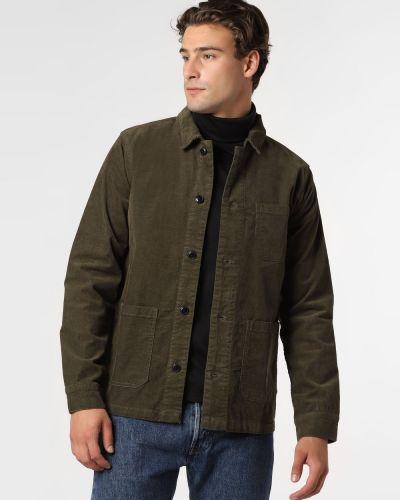 Zielona kurtka sztruksowa Lindbergh