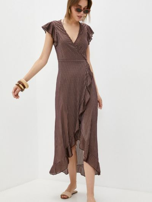 Пляжное платье - коричневое Dali