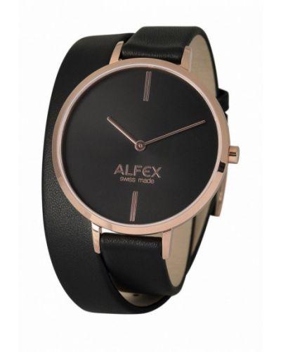 Часы черные весенний Alfex