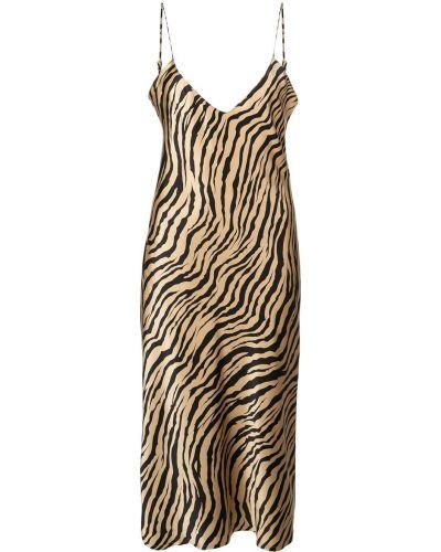 Платье с открытой спиной платье-комбинация Nili Lotan