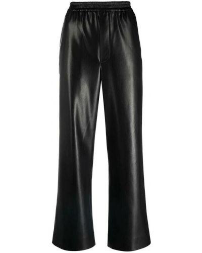 Czarne spodnie Nanushka