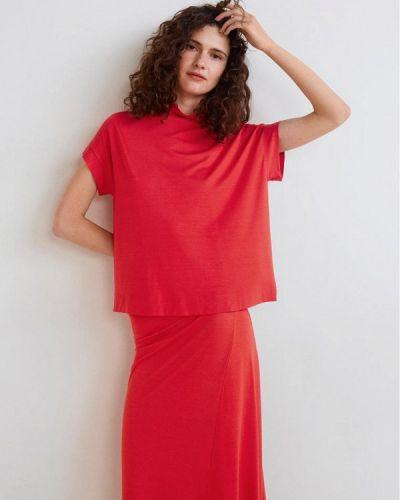 Красная футболка 2019 Mango