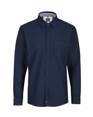 Классическая рубашка синий Strellson