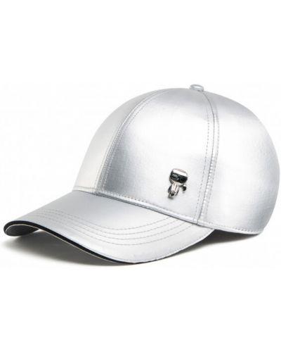 Z paskiem czapka baseballowa metal Karl Lagerfeld