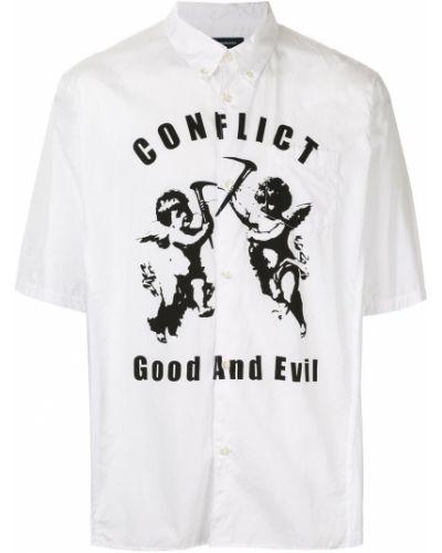 Классическая рубашка с короткими рукавами на пуговицах Johnundercover
