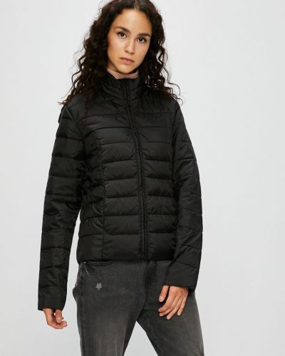 Утепленная куртка укороченная прямая Jacqueline De Yong