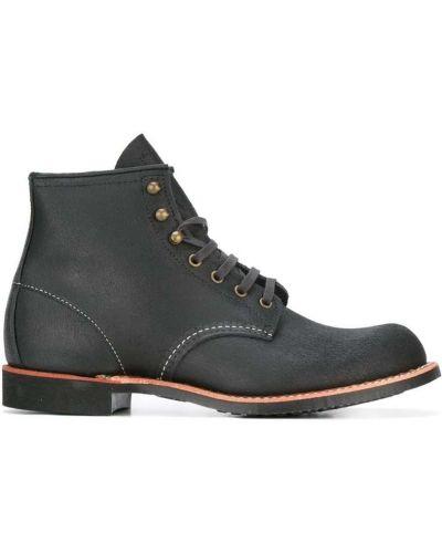 Кожаные полуботинки - черные Red Wing Shoes