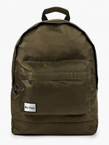 Текстильный рюкзак - зеленый Mi-pac