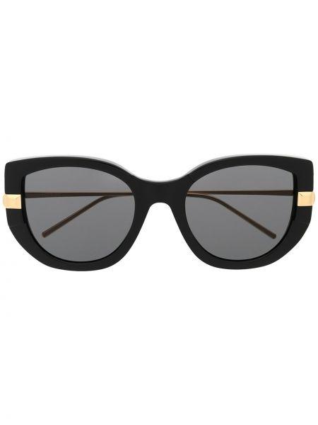 Черные солнцезащитные очки металлические Boucheron Eyewear