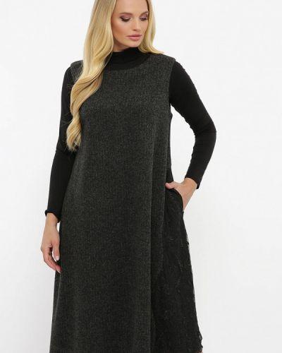 Платье - серое Vlavi