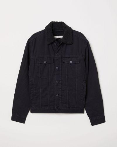 Джинсовая куртка - черная L.o.g.g.
