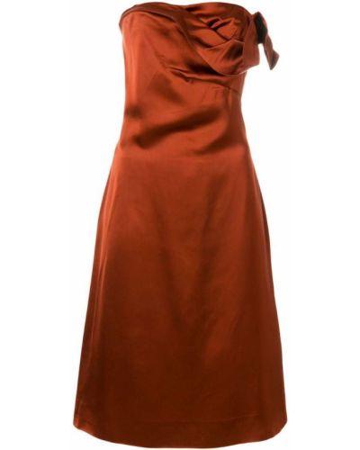 Платье винтажная без бретелек Versace Vintage