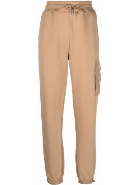 Коричневые хлопковые брюки Mackage