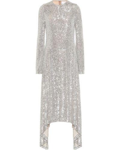 Платье миди с пайетками модерн Galvan