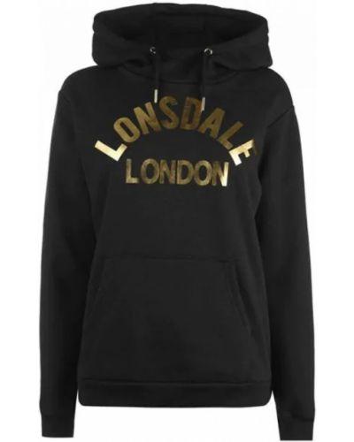 Черная худи Lonsdale