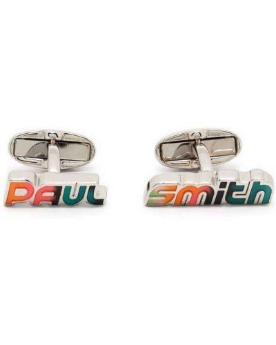 Spinki do mankietów - białe Paul Smith
