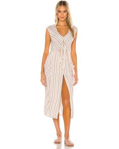 Пляжное бежевое платье с подкладкой Tavik Swimwear