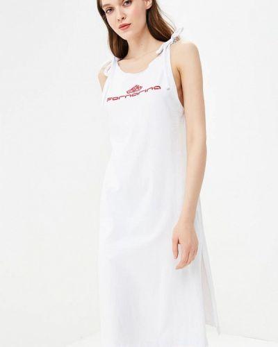 Белое платье майка Fornarina