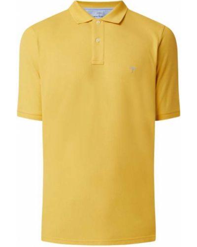 T-shirt bawełniana - żółta Fynch-hatton