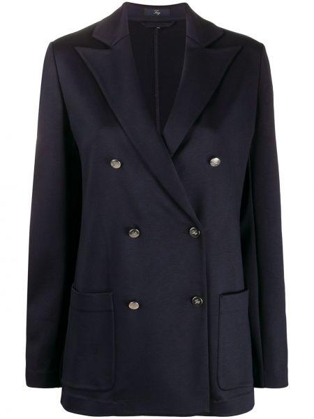 Прямой удлиненный пиджак Fay