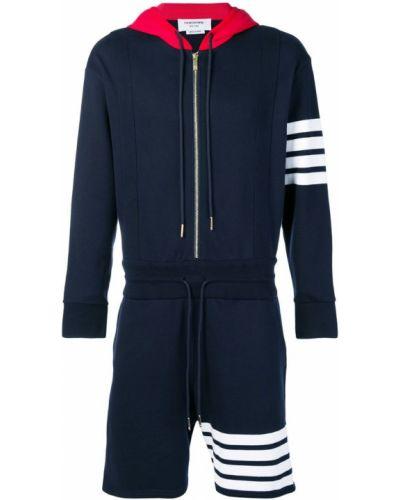 Спортивный костюм синий на шнурках Thom Browne
