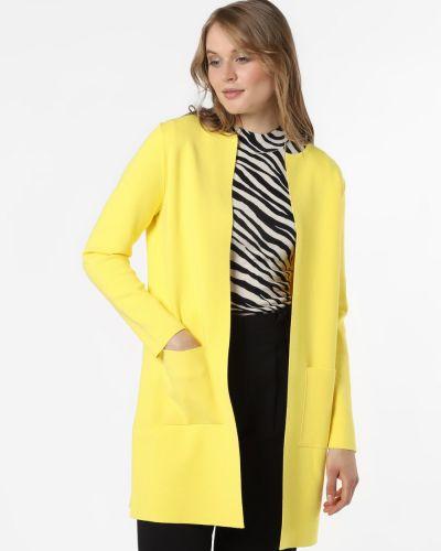 Żółty garnitur dzianinowy März
