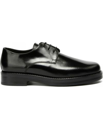 Кожаные туфли закрытые круглые Principe Di Bologna
