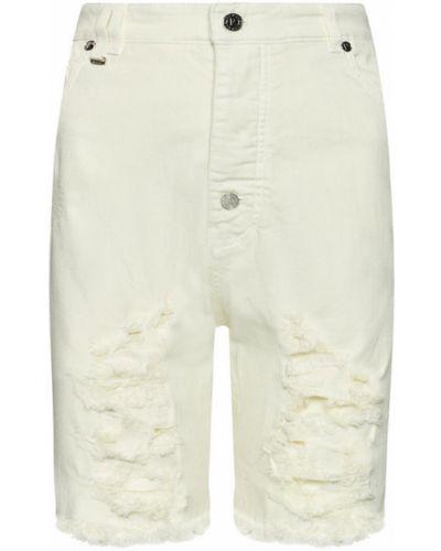 Beżowe szorty jeansowe Rage Age