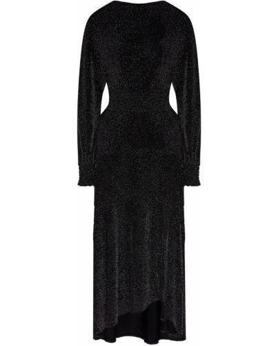 Вечернее платье с открытой спиной макси Maje