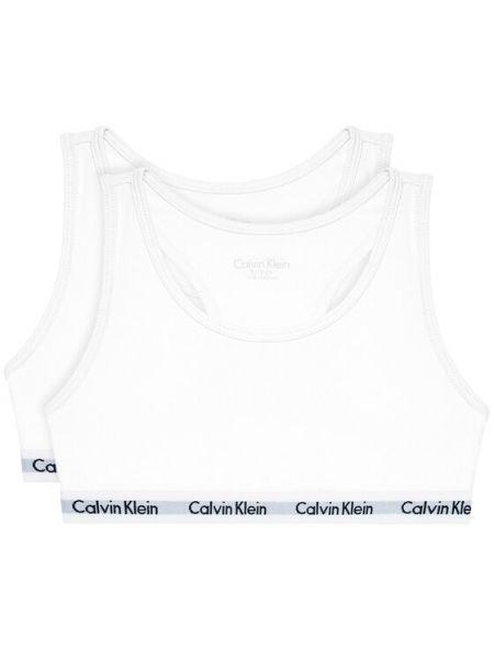 Biustonosz - biały Calvin Klein Underwear