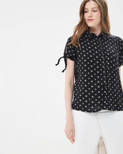 Черная блузка Jennyfer