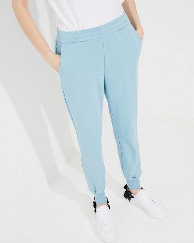 Голубые спортивные брюки Twin-set Simona Barbieri
