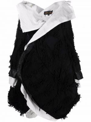 Длинное пальто - белое Comme Des Garçons