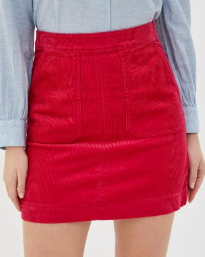 Розовая прямая юбка карандаш Marks & Spencer