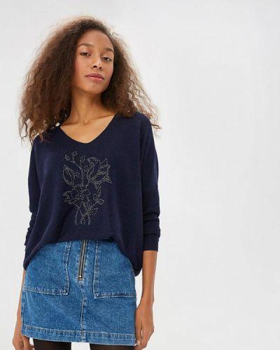 Синий пуловер Sweewe